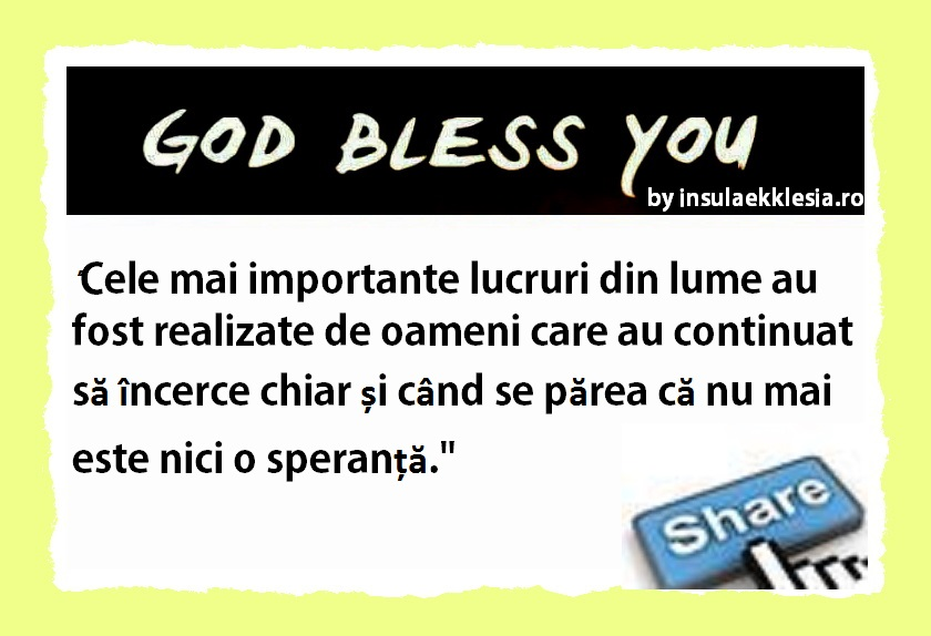god bless you