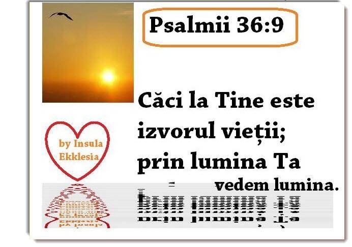lumina,Psalmi,versete