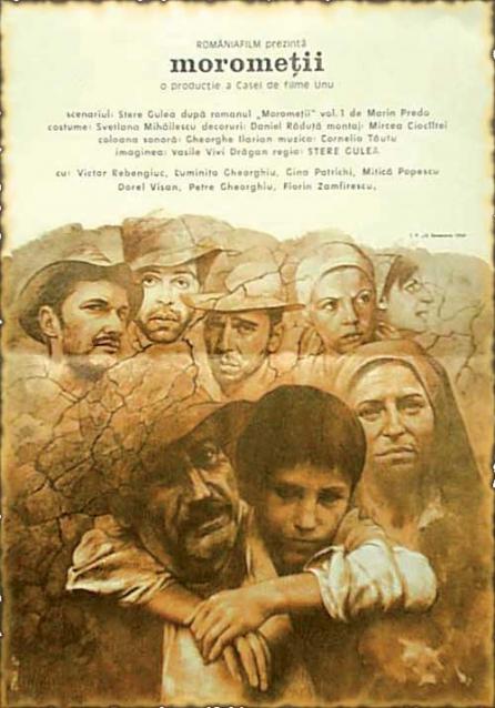 Morometii de Marin Preda (The Moromete Family-1988 )-film-drama