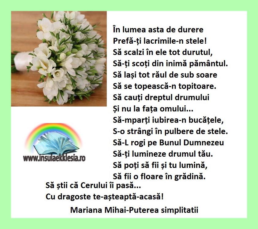 8 martie,Mariana Mihai
