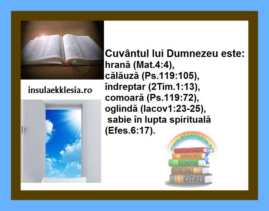 cuvantul Domnului,Biblia