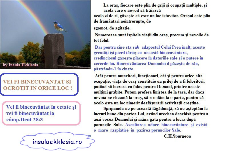 insula ekklesia,Spurgeon