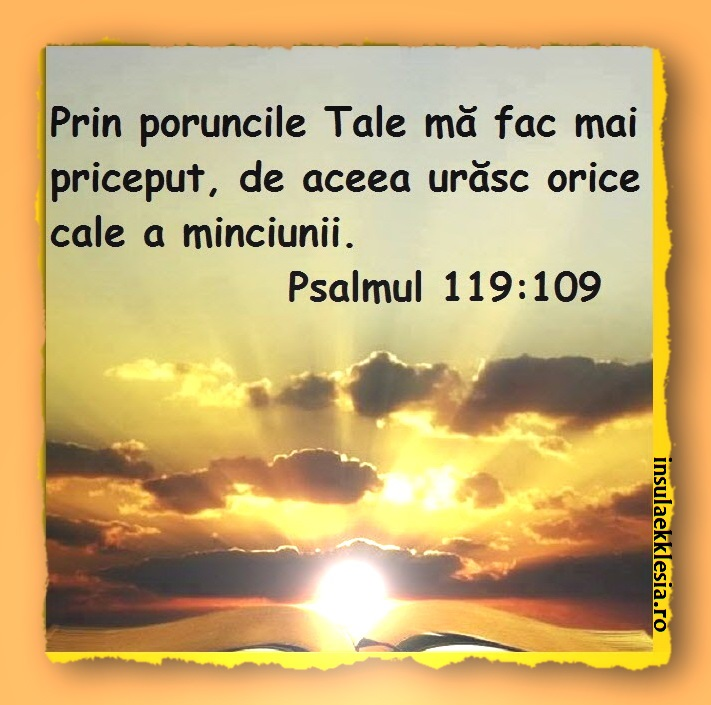 poruncile Tale, Psalmi,Versete