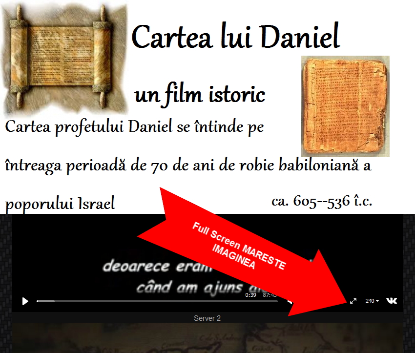 cartea lui Daniel,imagini filme