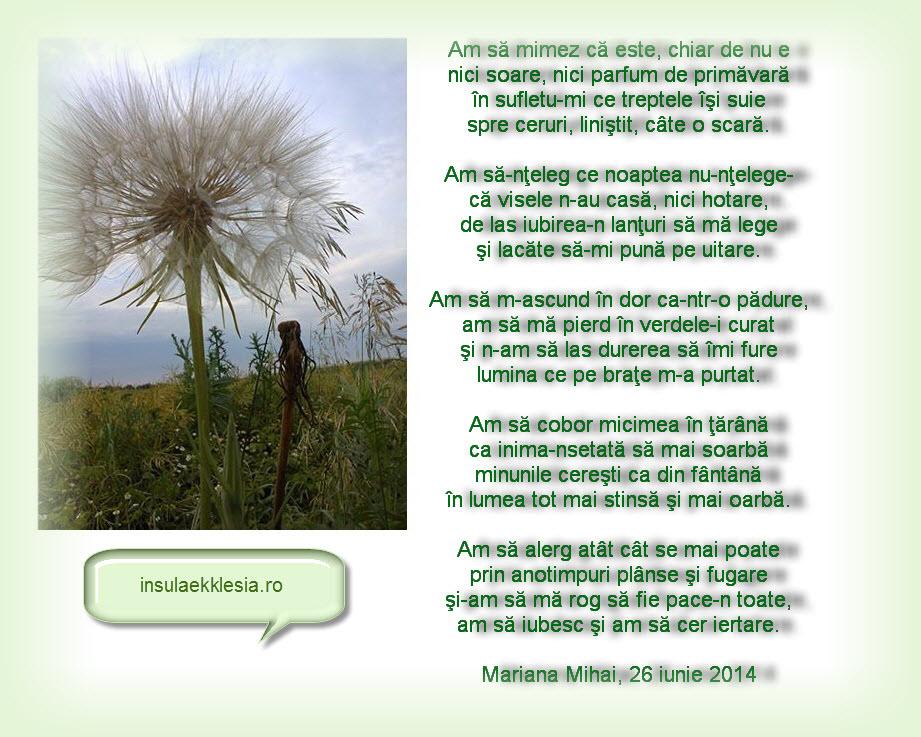 Mariana Mihai,poezie,poezii crestine